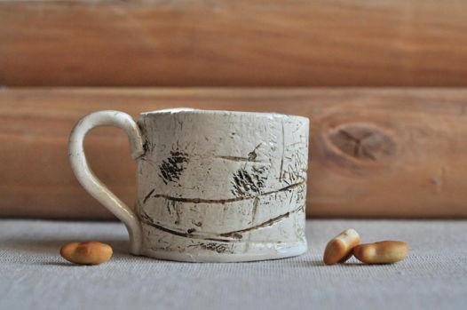 Керамическая чашка Лесная