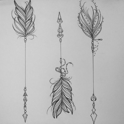 arrow tattoo designs