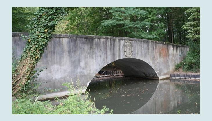 geocaching im kölner stadtwald wasserbrücke