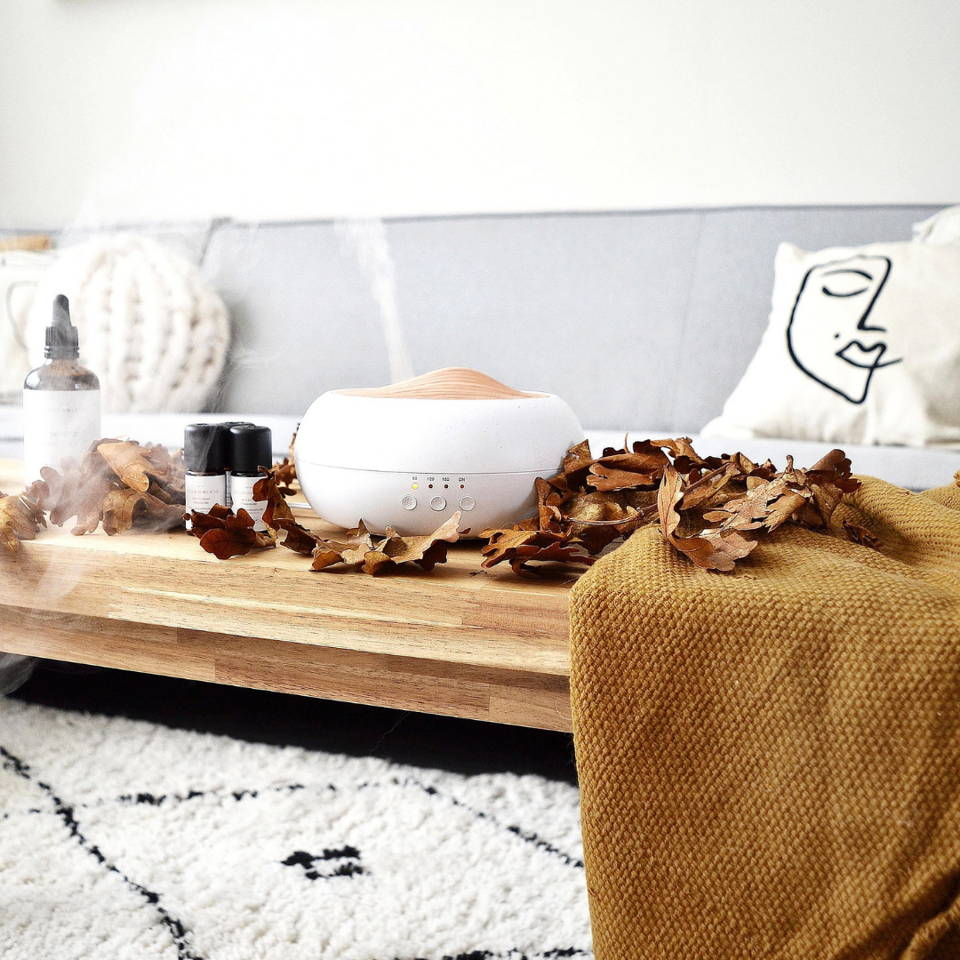 Our Aroma diffusers have the perfect aesthetic