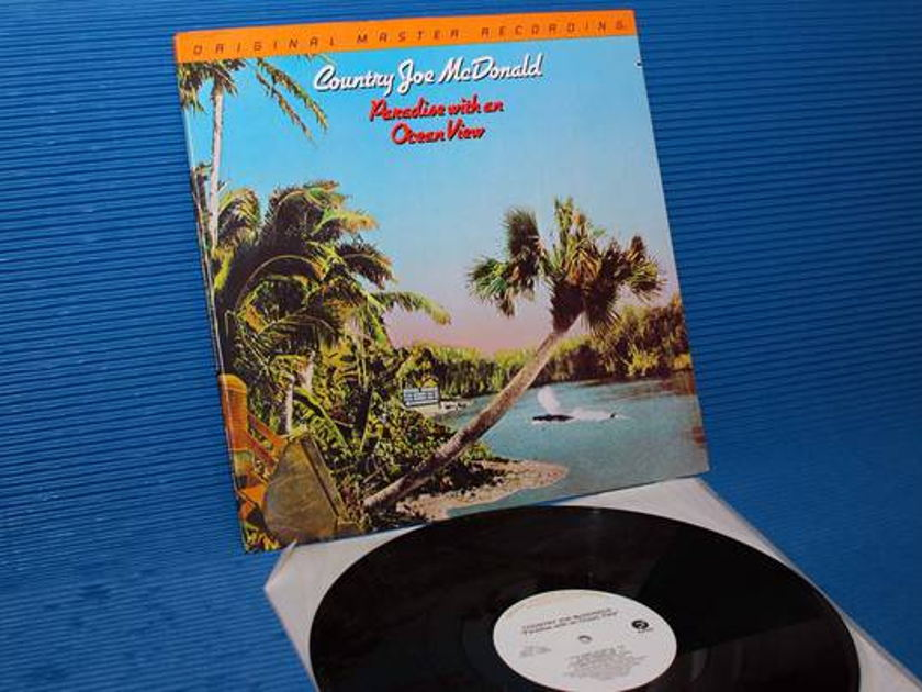 """COUNTRY JOE MCDONALD -  - """"Paradise With An Ocean View"""" -  - Mobile Fidelity/MFSL 1981"""