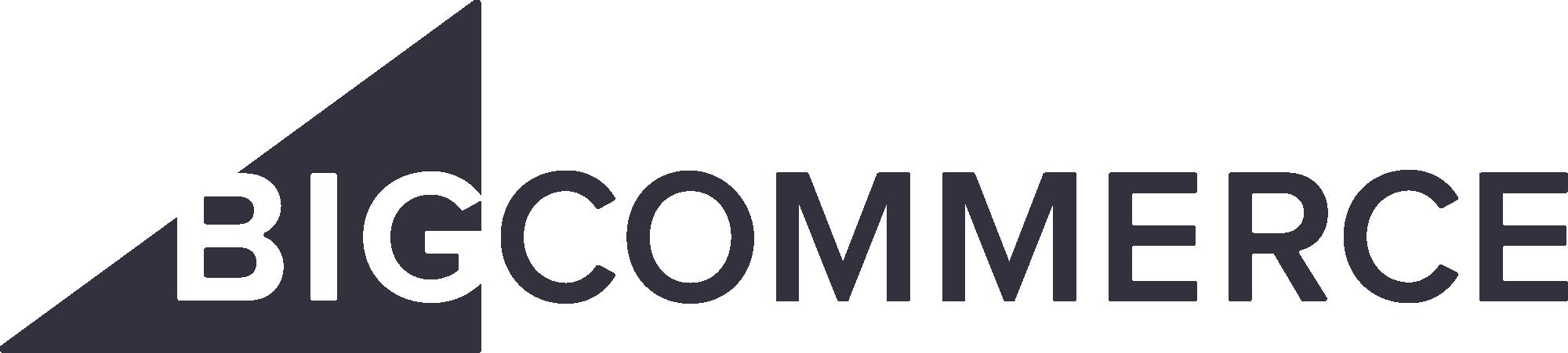 Bigcommerce logo dark
