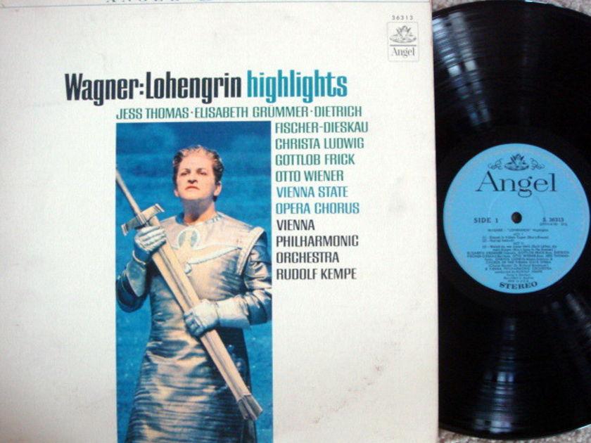 EMI Angel Blue / KEMPE, - Wagner Lohengrin Highlights, NM!