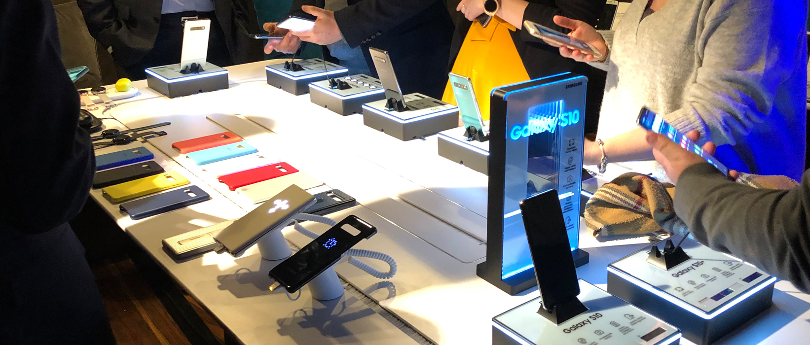 Bemutatkozott a Samsung Galaxy S10 család, a Galaxy Fold, a Galaxy Watch Active és Fit, illetve a Galaxy Buds