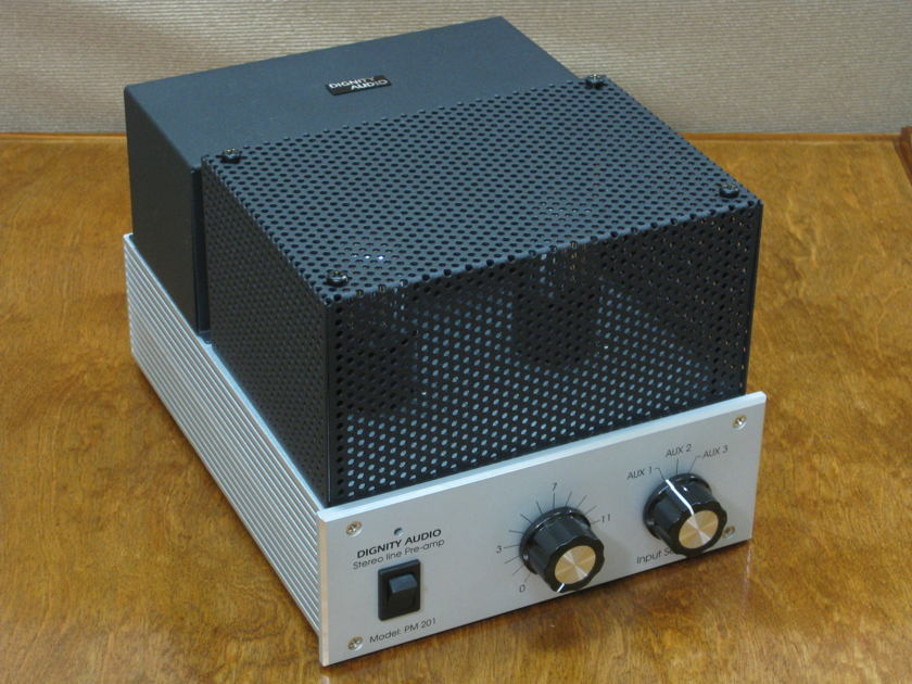 Dignity Audio PM201 stereo line pre- amplifier