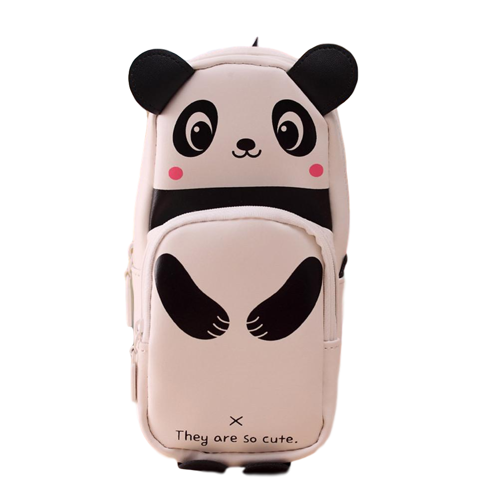 trousse forme de panda caoutchouc