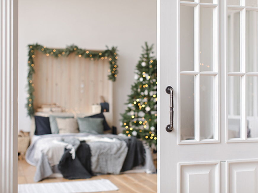 Sintra - Decorating the guest room – Christmas decoration ideas