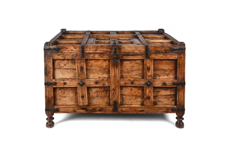 Indian Stick Box From Jaisalmer - 19thC | Indigo Antiques