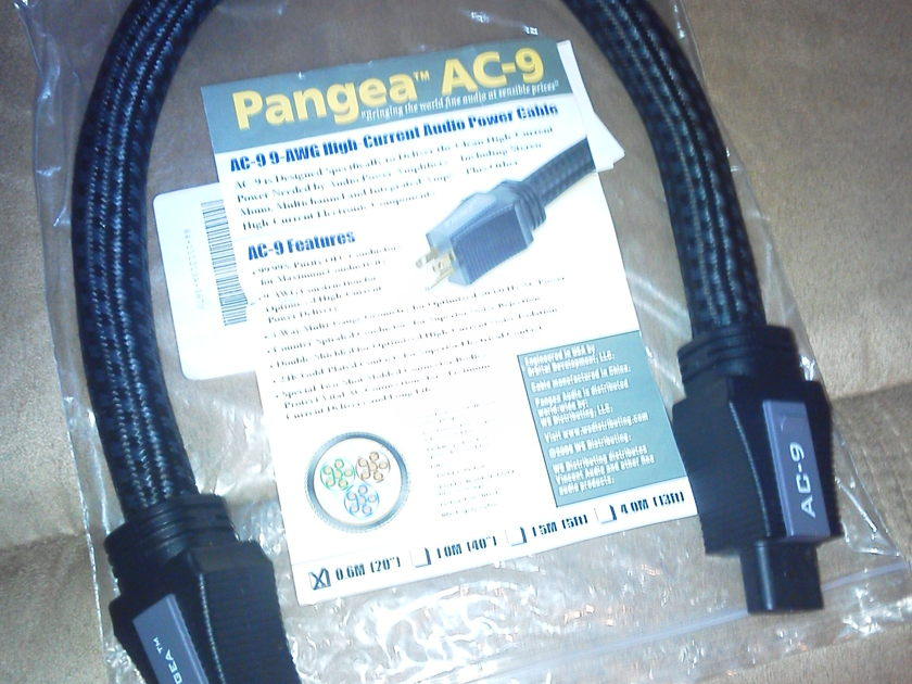 Pangea AC-9 0.6 meter power cord/cable