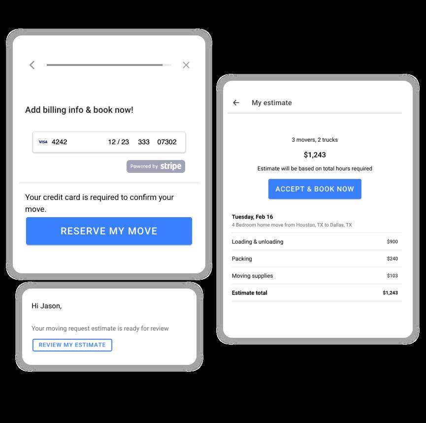 Accept online payments hero