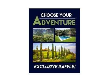 Choose Your Own Adventure Raffle Ticket!