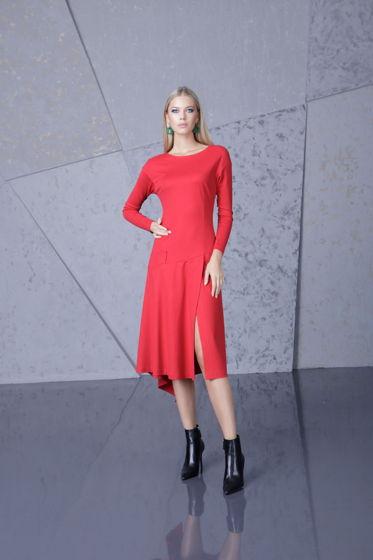 Платье красное Bonali 4067-0508