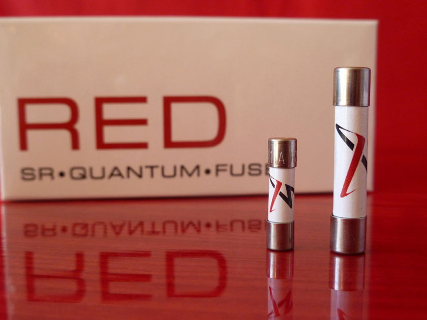 Synergistic Research RED Quantum Fuse - SUMMER SALE 30% OFF