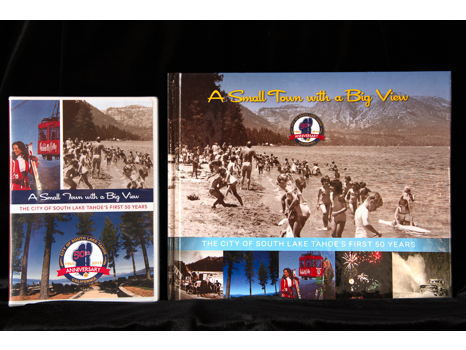 The City of South Lake Tahoe's first 50 years Book and DVD
