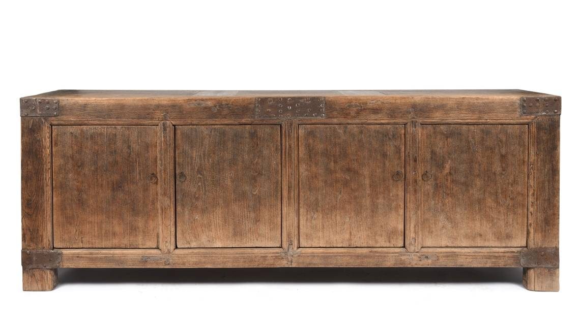 Antique Painted Mongolian Long Sideboards & Furniture From Mongolia | Indigo Antiques