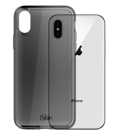 iSkin Claro for iPhone X clear drop protection - Claro Dark