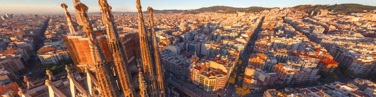 Автомобильная обзорная экскурсия по Барселоне