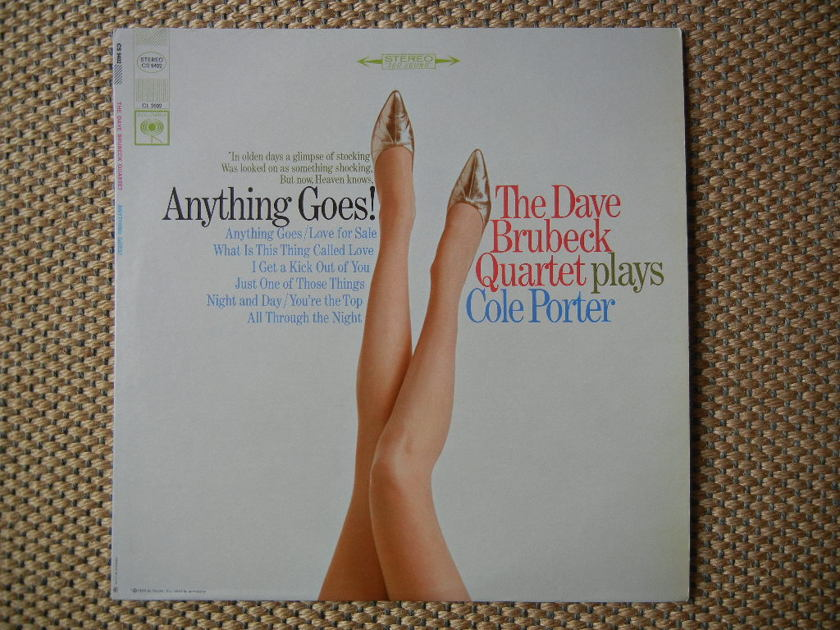 DAVE BRUEBECK/ - ANYTHING GOES!/ BRUEBECK PLAYS COLE PORTER/ Columbia Stereo CS9402