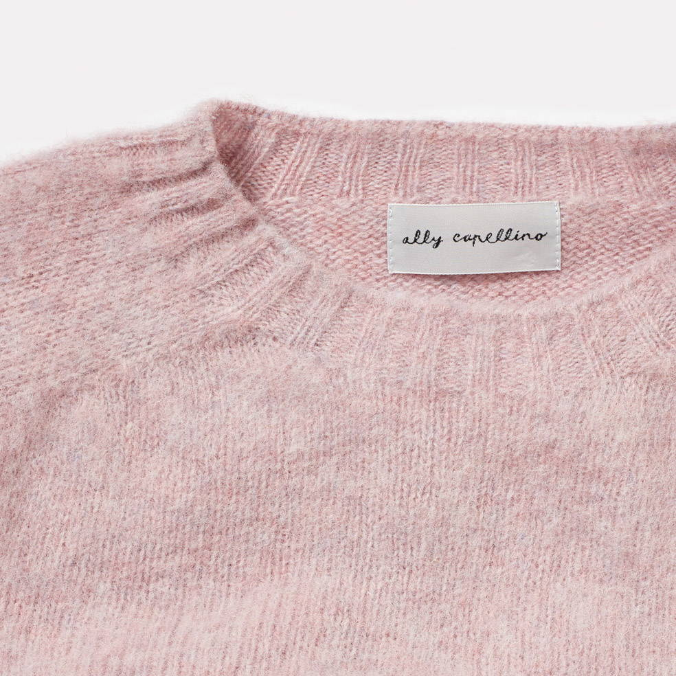 Sweater Detail in Pink