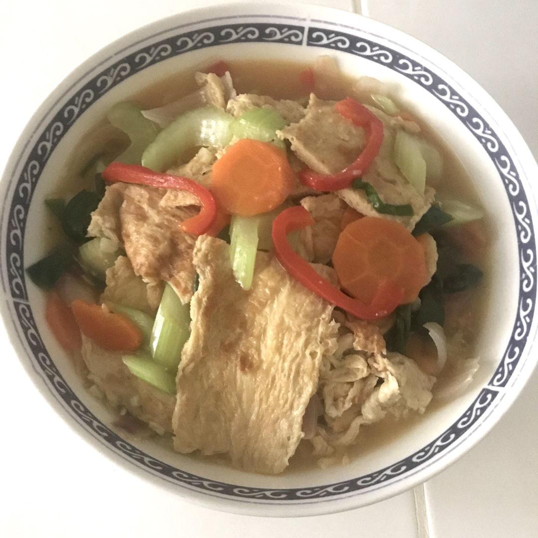 Loh hon zhai for lunch 🍴 😃