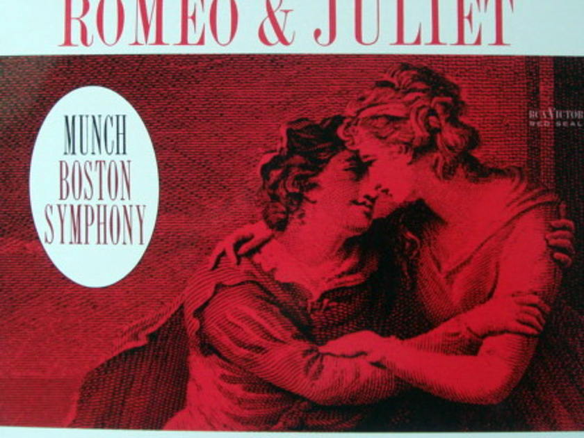 ★Audiophile 180g★ RCA-Classic Records /  - MUNCH, Tchaikovsky Romeo & Juliet, MINT(OOP)!