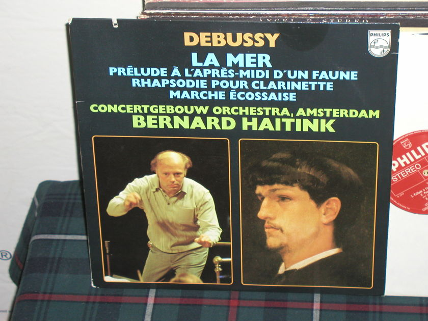 Haitink/COA - Debussy La Mer (Pics) Philips Import Pressing 6500