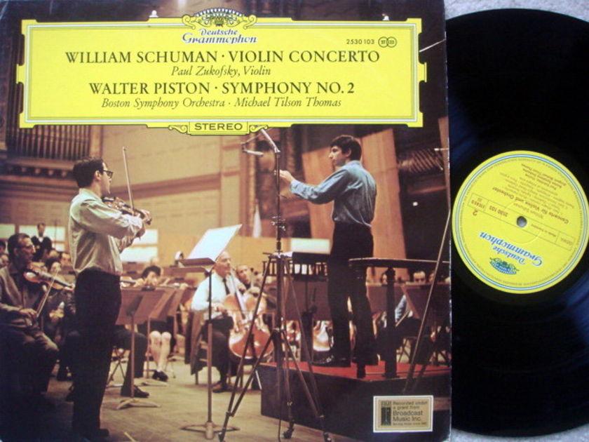 DG / Schuman Violin Concerto, - ZUKOFSKY/TILSON THOMAS/BSO, MINT!