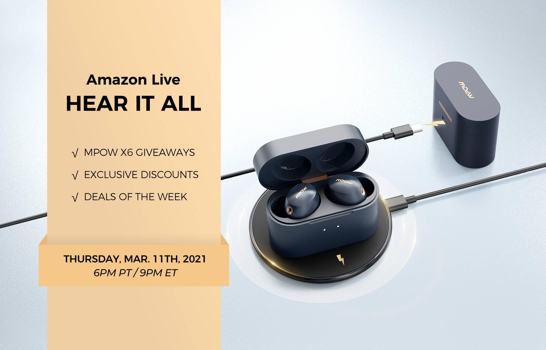 Mpow Amazon Live