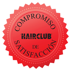 Hair Club Commitment To Satisfaction Seal Image