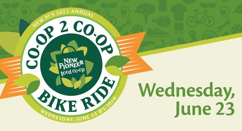 New Pioneer's Annual Co-op to Co-op Bike Ride