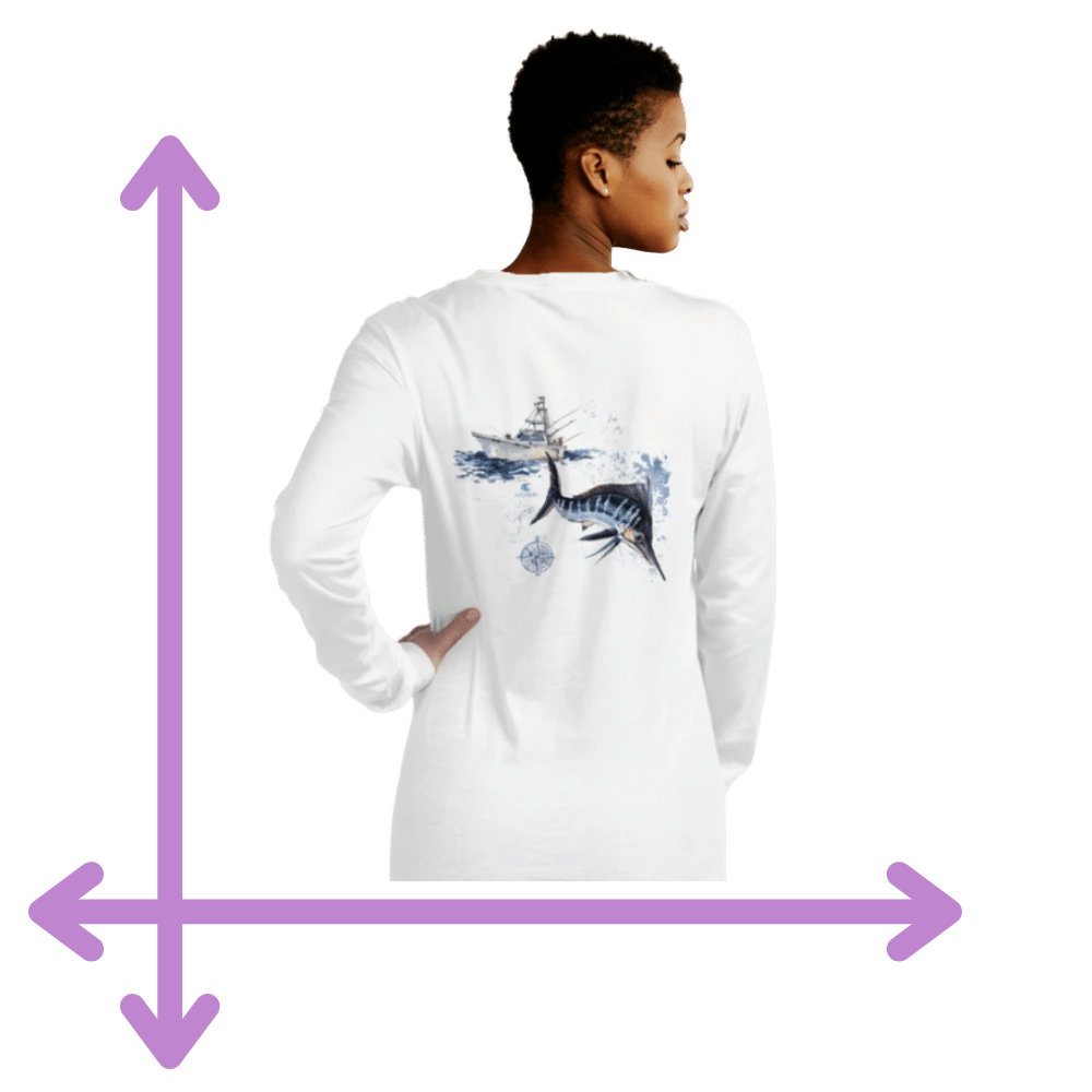 measurements for girls long sleeve shirts