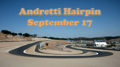 The Andretti Hairpin at Foxtrot NCR Autox