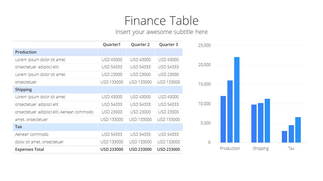 Modern X Pitch Deck Presentation Template Financial Projection