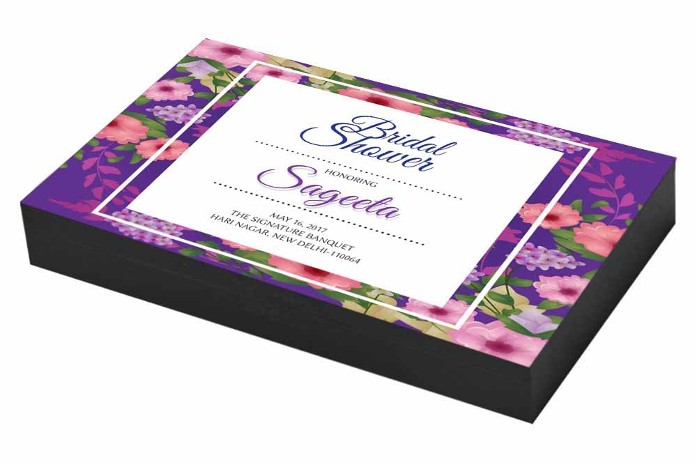 Floral Beauty Bridal shower Invitation