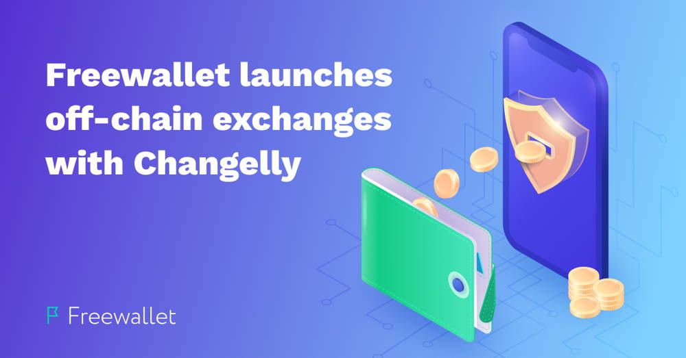 Freewallet launches off-chain exchanges with Changelly