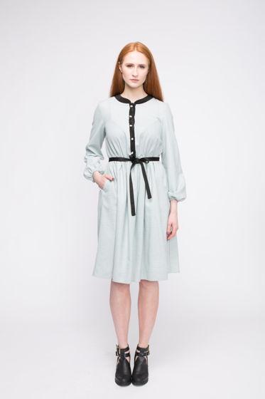 Платье Mary из 100% шерсти