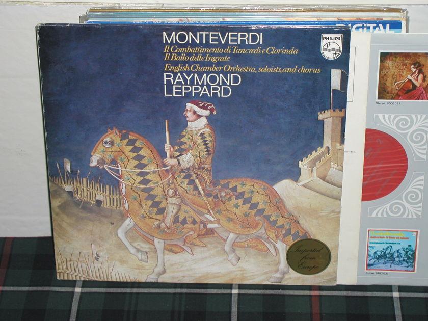 Leppard/ECO - Monteverdi Philips Import pressing 6500