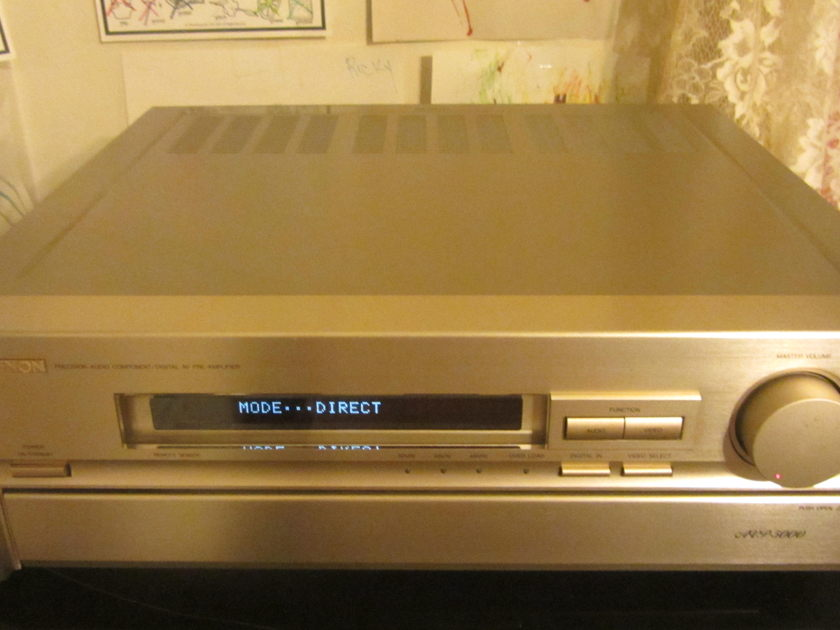 Denon AVP 5000 Rare Denon AVP 5000 Pre-Amplifier/ Processor!!!