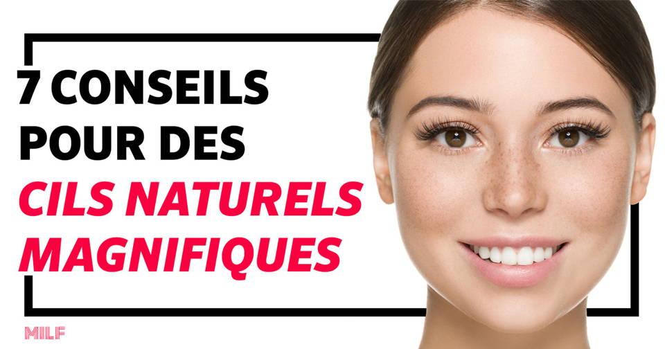 7 conseils pour des cils naturels