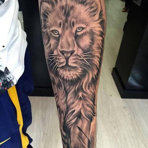 Tatouage Felin Mollet