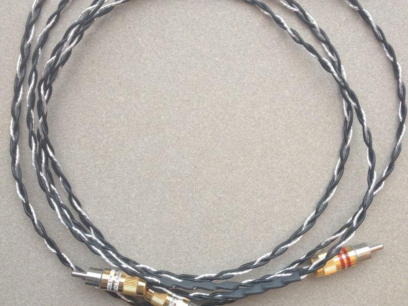 Kimber Kable 1m Silver Streak SE w/ Ultraplate RCAs