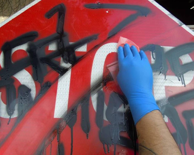graffiti remover wipes