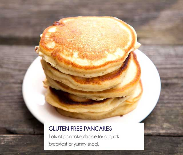 Gluten Free Pancake Mixes