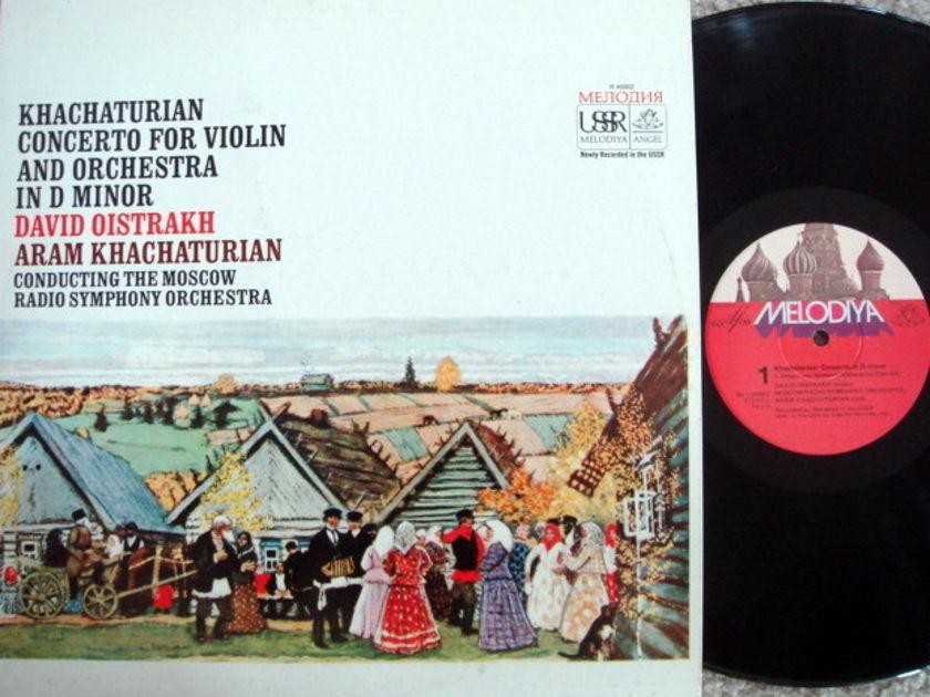 EMI Angel Melodiya / OISTRAKH-KHACHATURIAN, - Khachaturian Violin Concerto, NM!