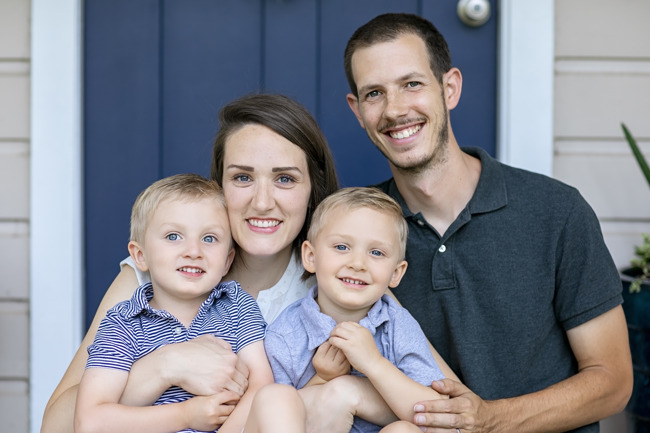 Cindi and Michal Steel with their children attend Primrose School of Barker Cypress, 16555 Dundee Rd., Cypress, TX 77429