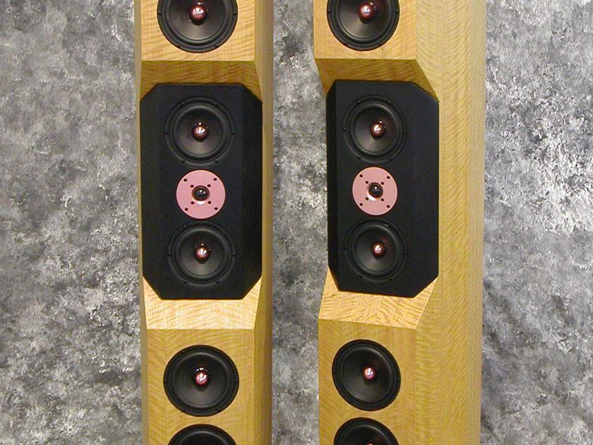 Tyler Acoustics D1's in premium movingui finish! $5500 shipped!