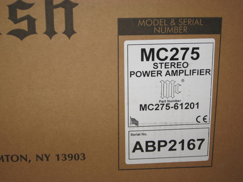 McIntosh MC-275 Mark VI Amplifier