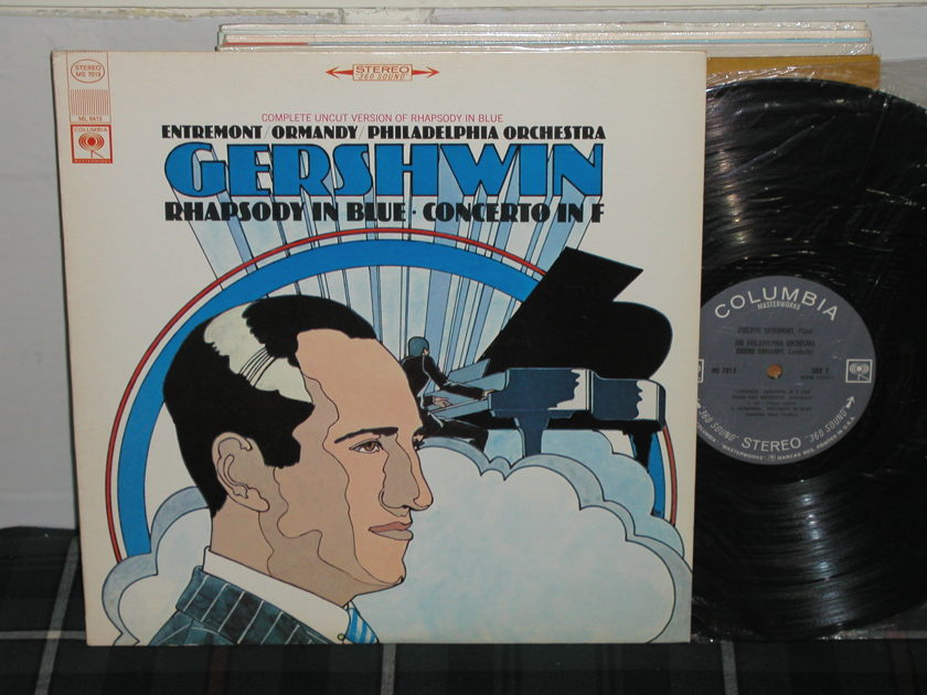 Entremont/Ormandy/PO - Gershwin Rhapsody Columbia <360> from 60's stereo
