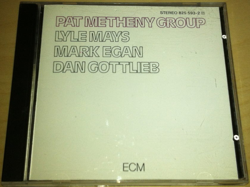 Pat Metheny Group - Pat Metheny Group First Album ECM 1990s Pressing