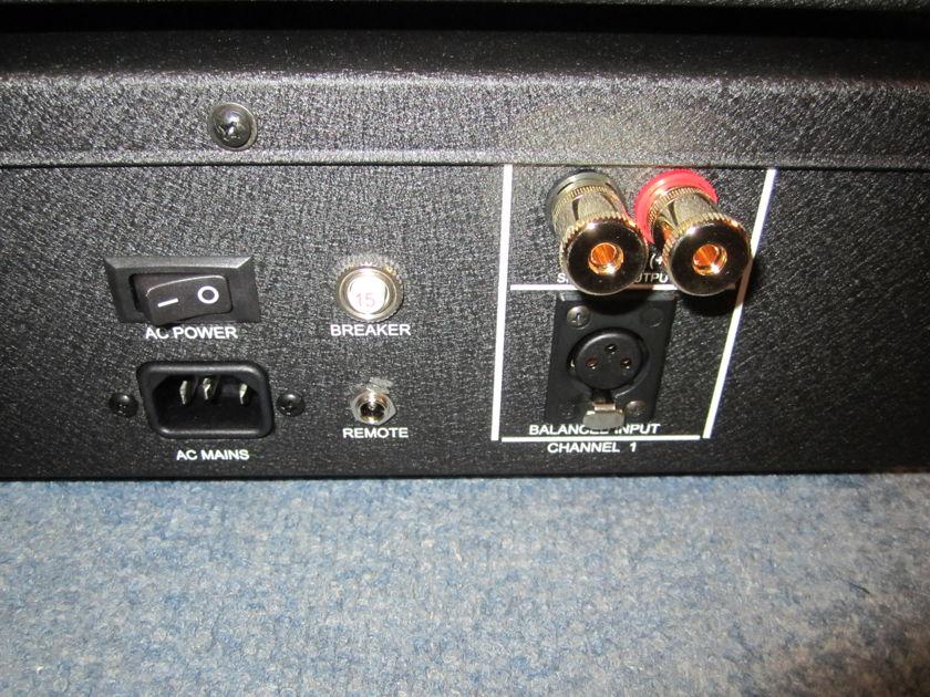 "Digital Amp Co -- ""Faceless"" Cherry MONO Amplifier PAIR -- Super Low Price DEMO."